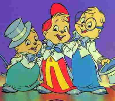 Alvin, Simon, Theodore doot doot doodoodoodoo doot doot doodoodoodoo